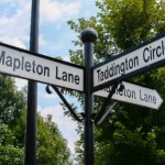 Derbyshire Finger Point Road Signs
