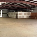 View of Warehouse Space from Back Left Corner toward Front Right